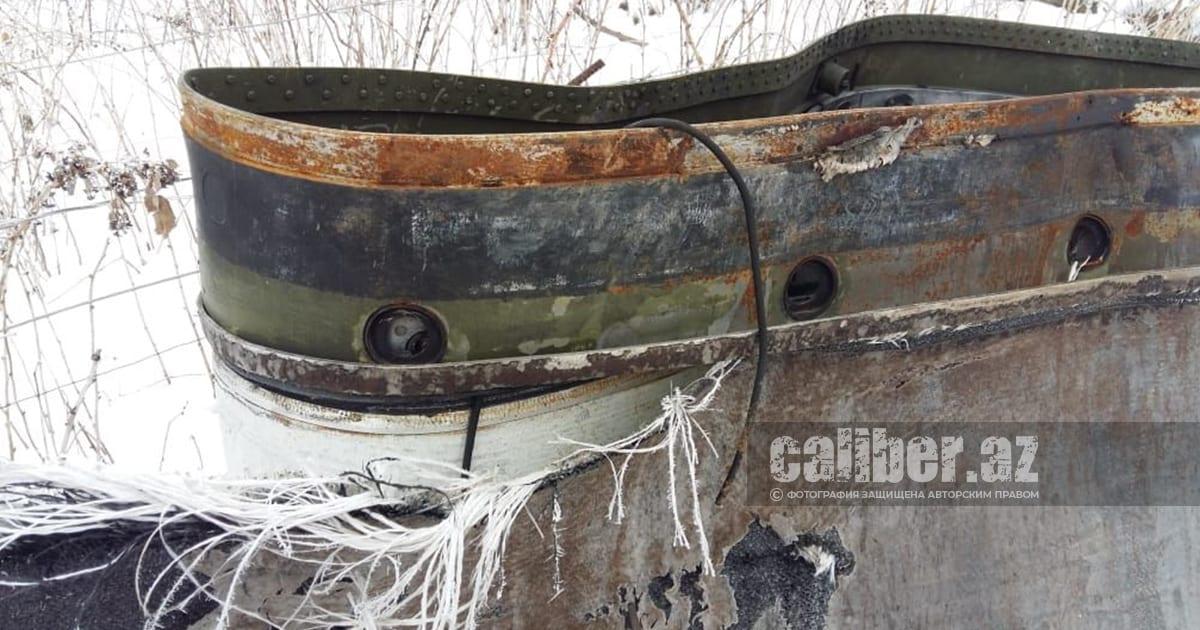 Знайдений уламок ракети від ОТРК «Искандер»