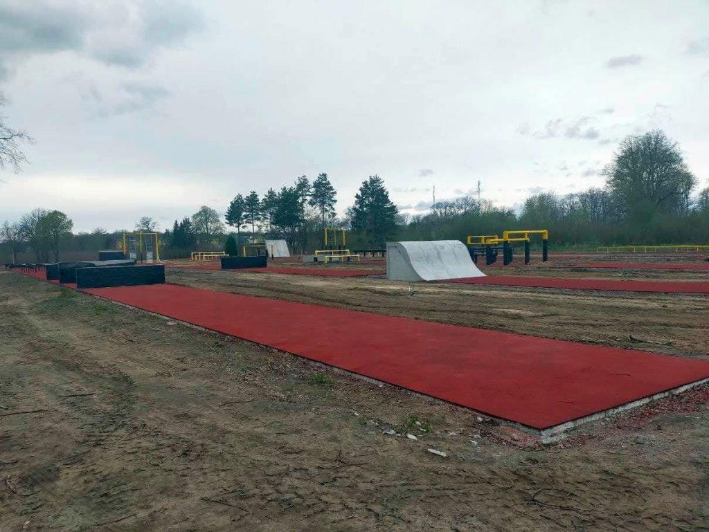 Новий спортивний майданчик у навчальному центрі у Старичах