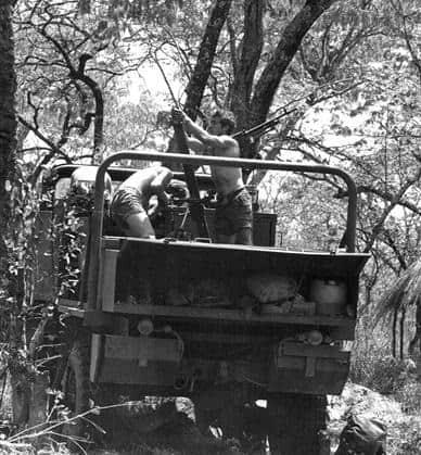 Міномет на Унімозі- мобільна артилерія для бідних