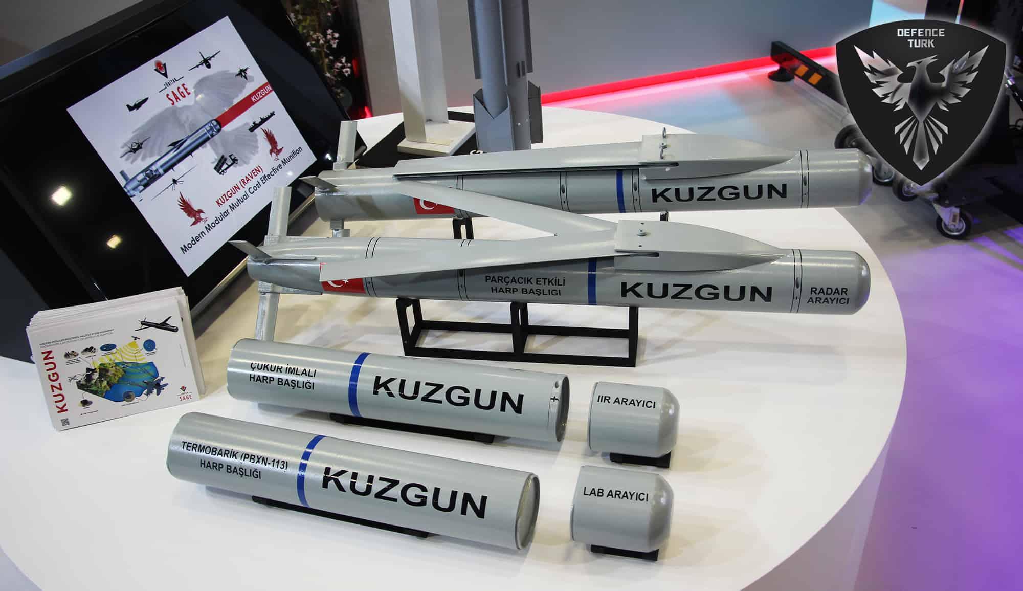 Авіаційні боєприпаси Kuzgun