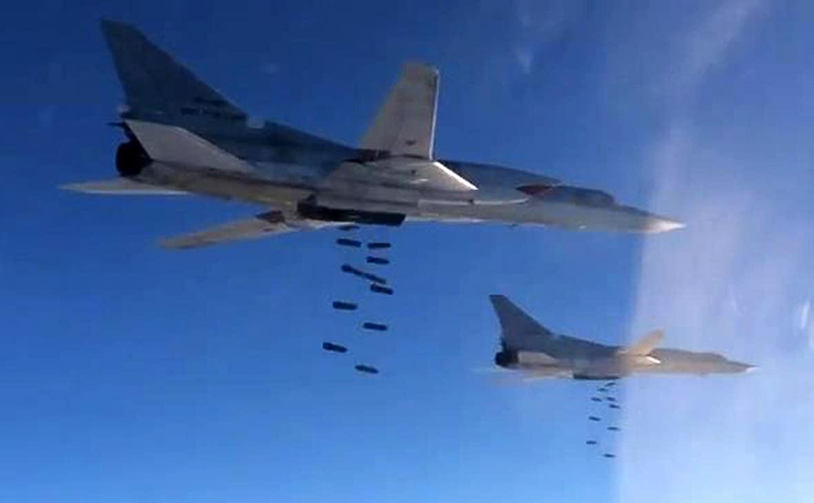 Бомбардування території Сирії російськими Ту-22М3