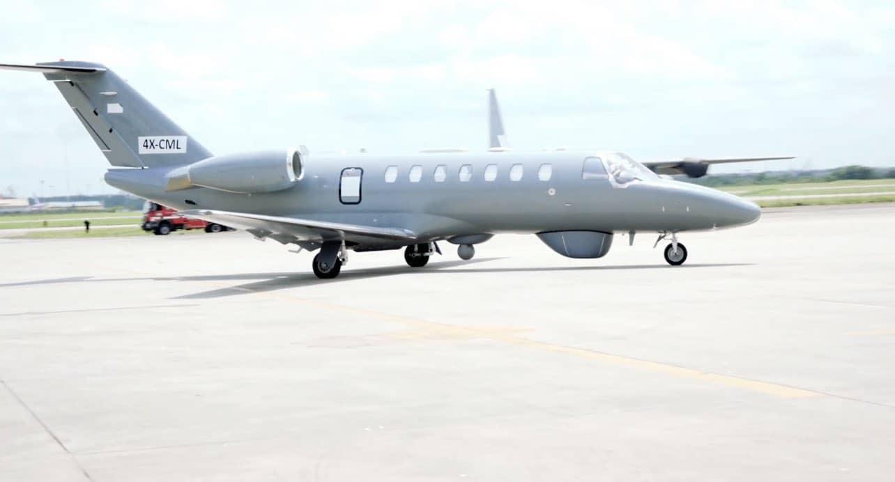 Літак Cessna Citations с системою ASIO від BIRD Aerosystems доставлений у Нігерію