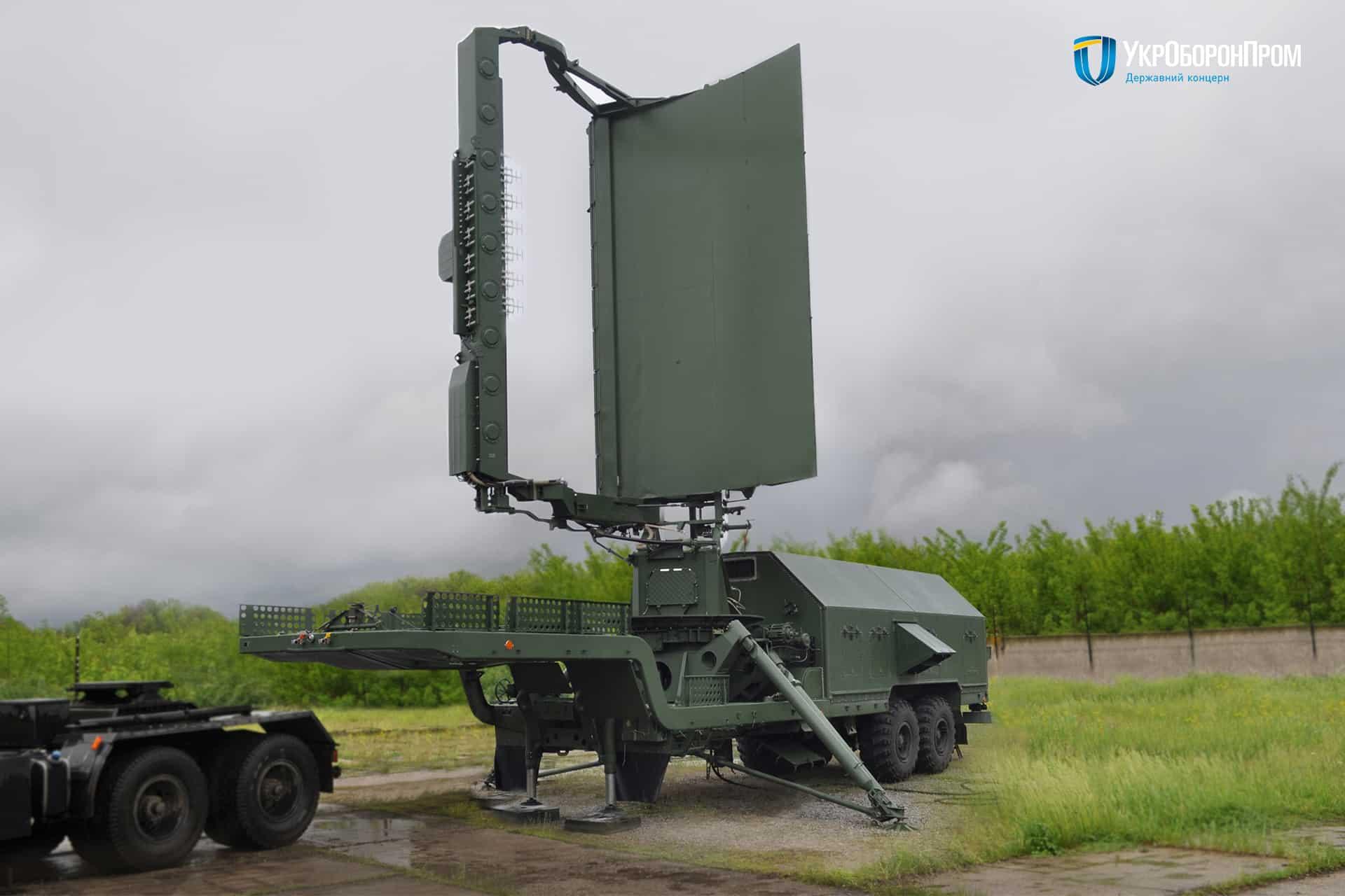 Модернізована до виду 35Д6М радіолокаційна станцій (РЛС) 19Ж6