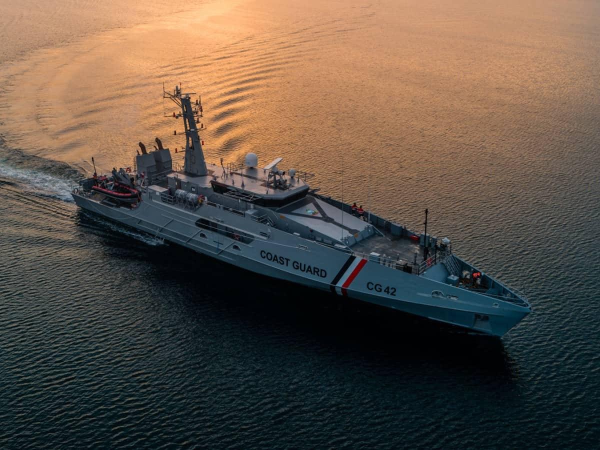 Патрульний корабель TTS Scarborough (CG42) Берегової охорони Тринідад і Тобаго
