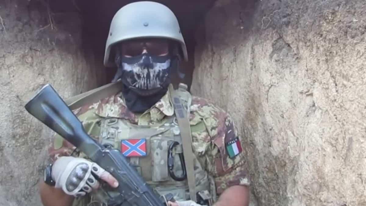Проросійських бойовик родом з Італії