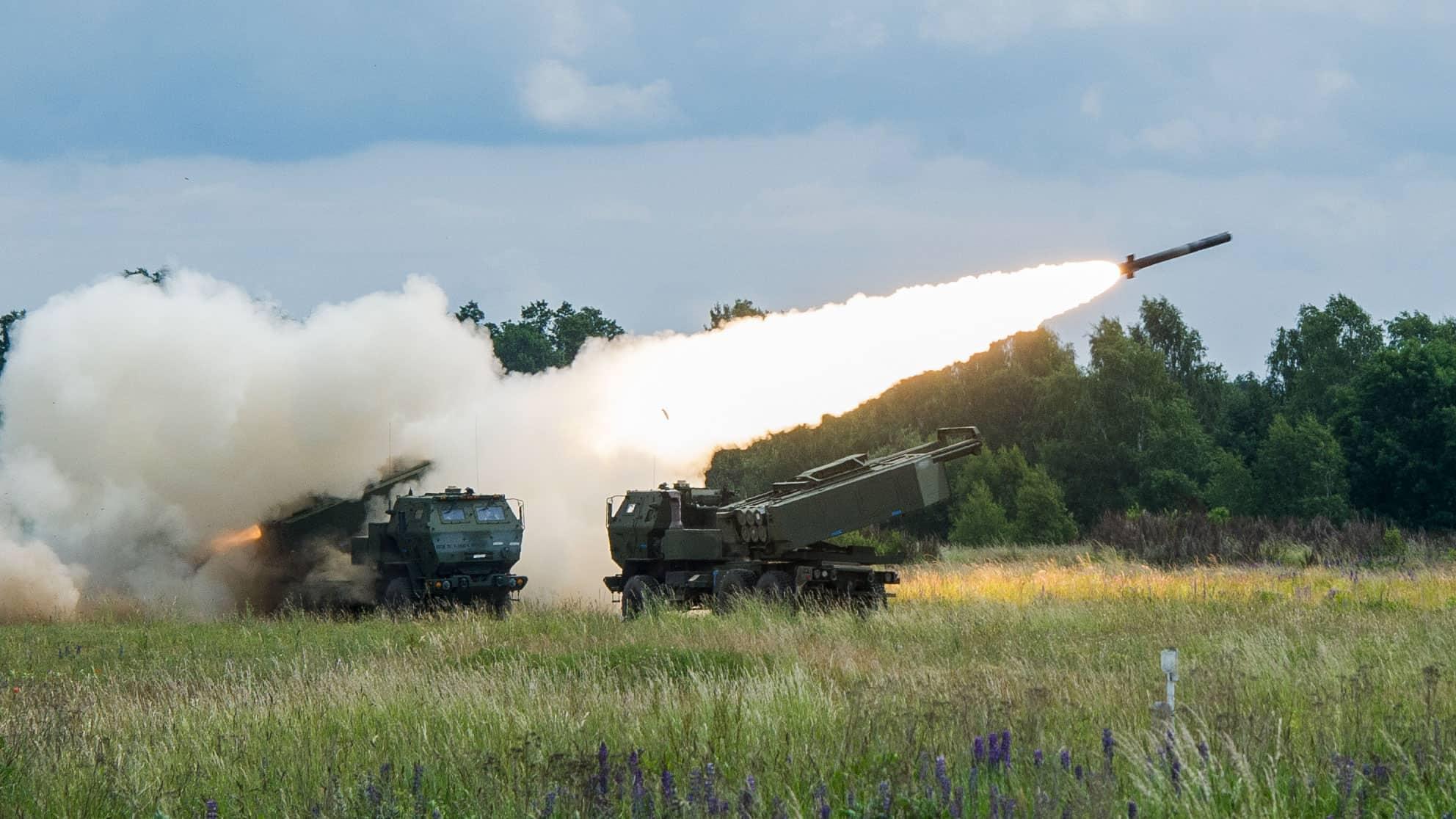 Стрільба з ракетного комплексу HIMARS