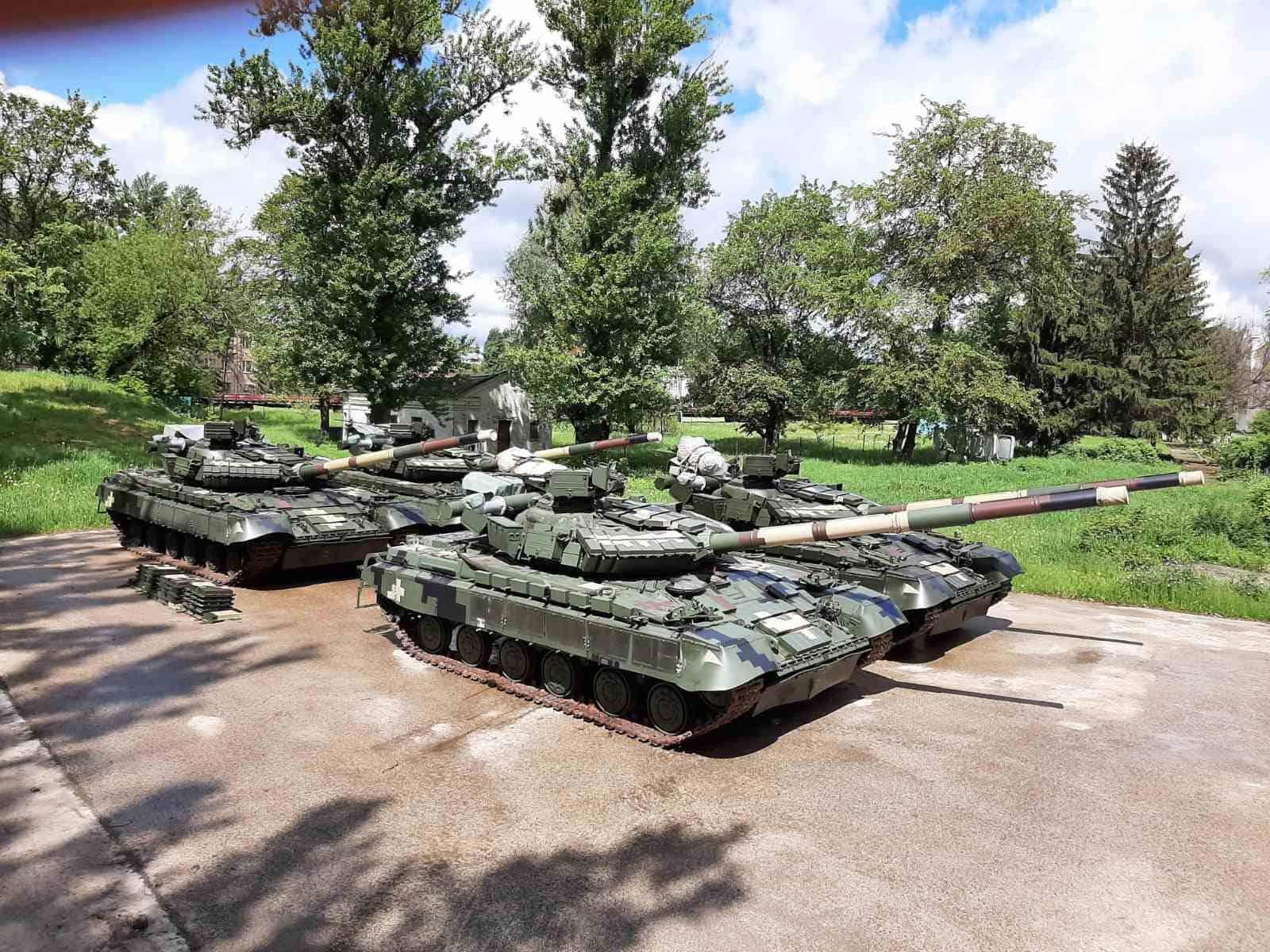 Танки Т-64 відремонтовані та модернізовані на ДП «Харківський бронетанковий завод»