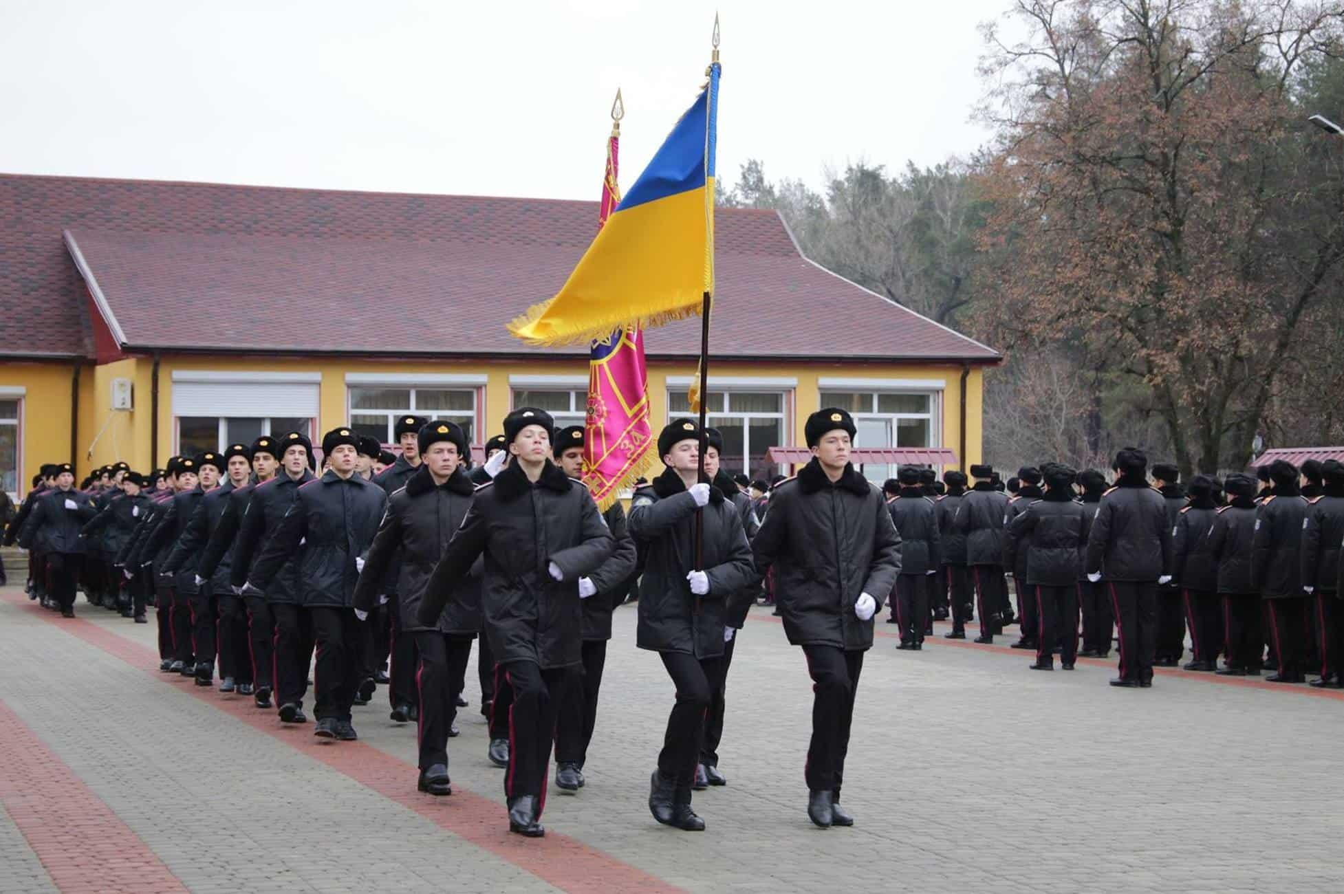 Учні Кадетського корпусу імені героїв Молодої гвардії