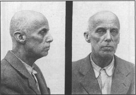 Вільгельм Габсбург (Василь Вишиваний) фото з особової справи під час перебування у Лук'янівському СІЗО