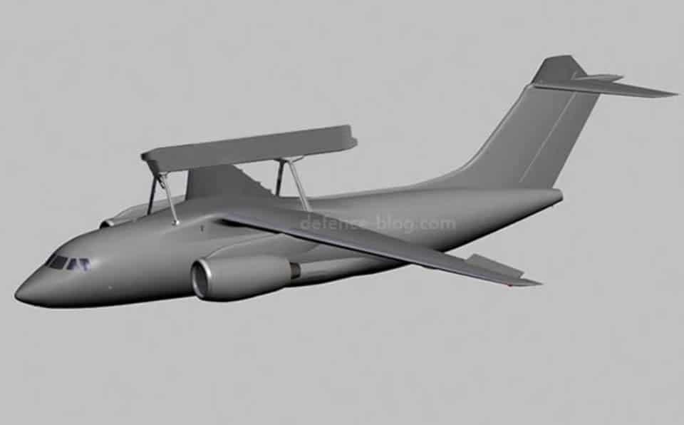 В Україні буде створено літак ДРЛВ на базі Ан-178