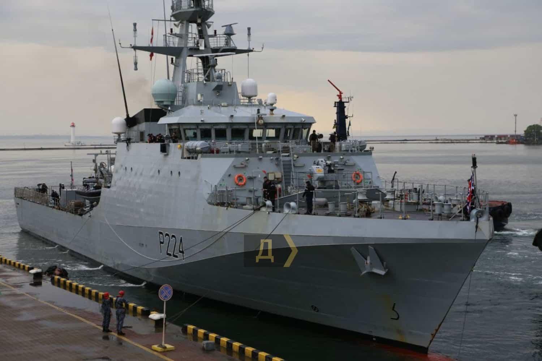 До Одеси прибув патрульний корабель Великої Британії | Мілітарний