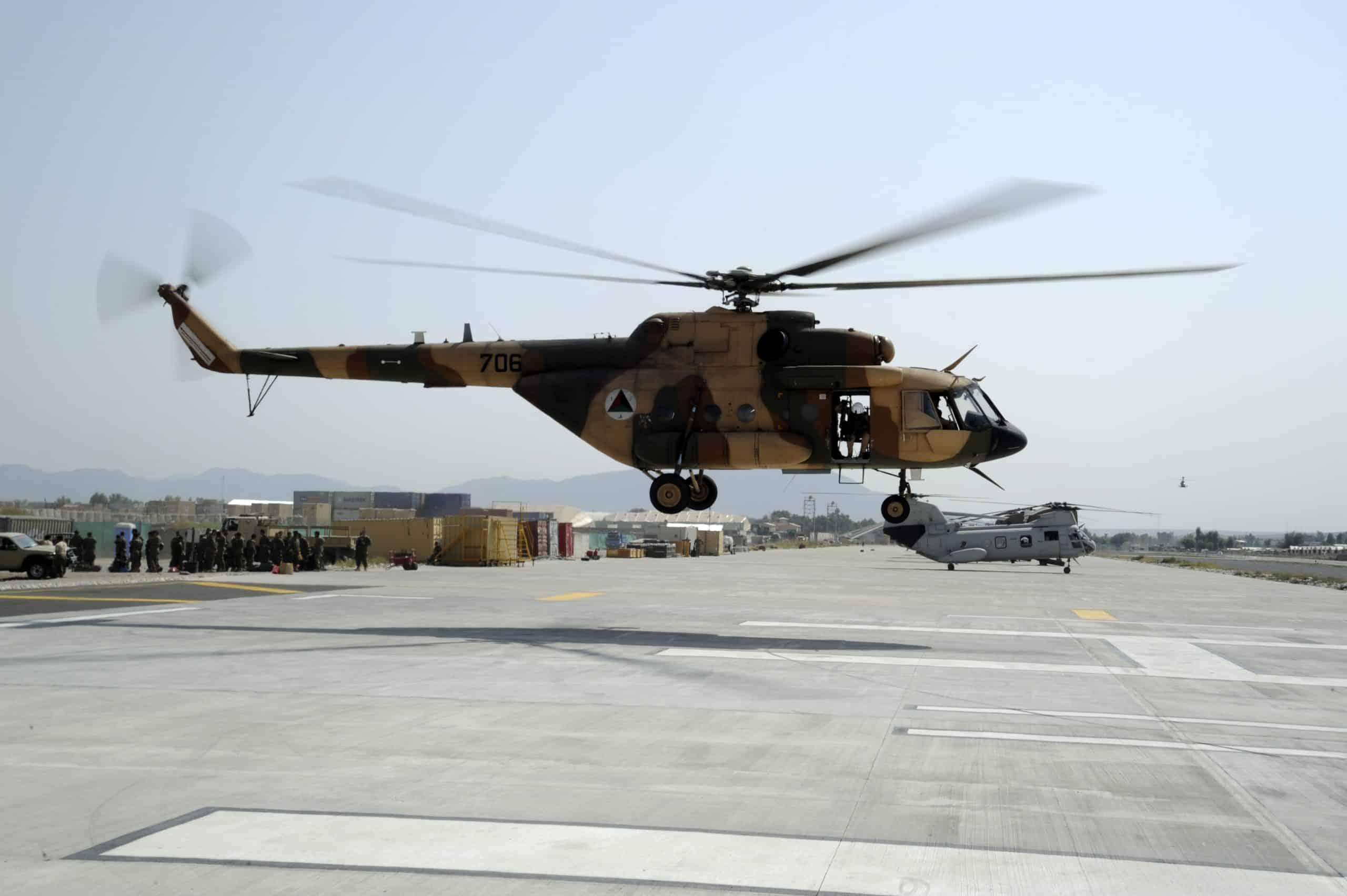 Гелікоптер Мі-17 Повітряних сил Афганістану