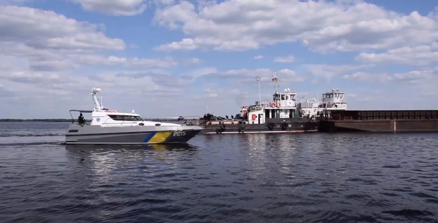 Малий катер BG15 проєкту UMS-1000 Одеського загону Морохорони у червні 2021 року