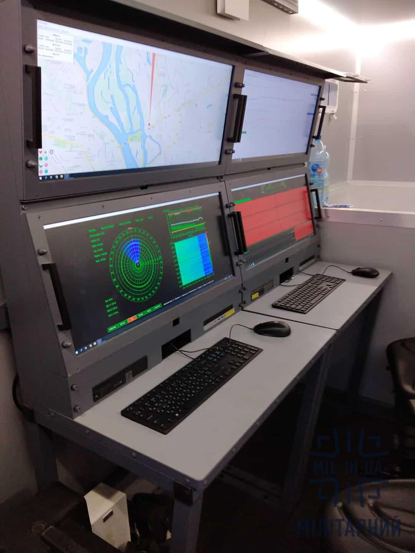 Місця операторів станції перешкод універсальна «Прометей-МФ5»