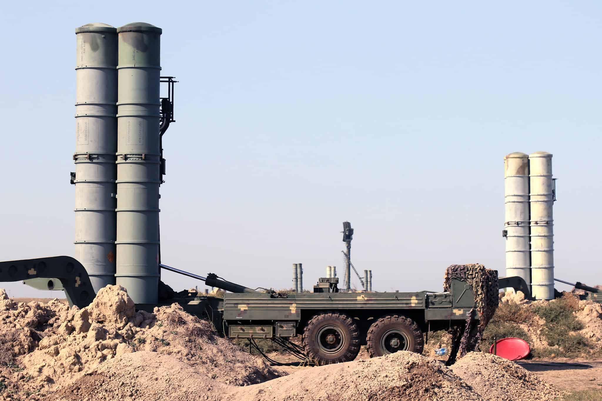 Пускові установки ЗРК С-300ПТ