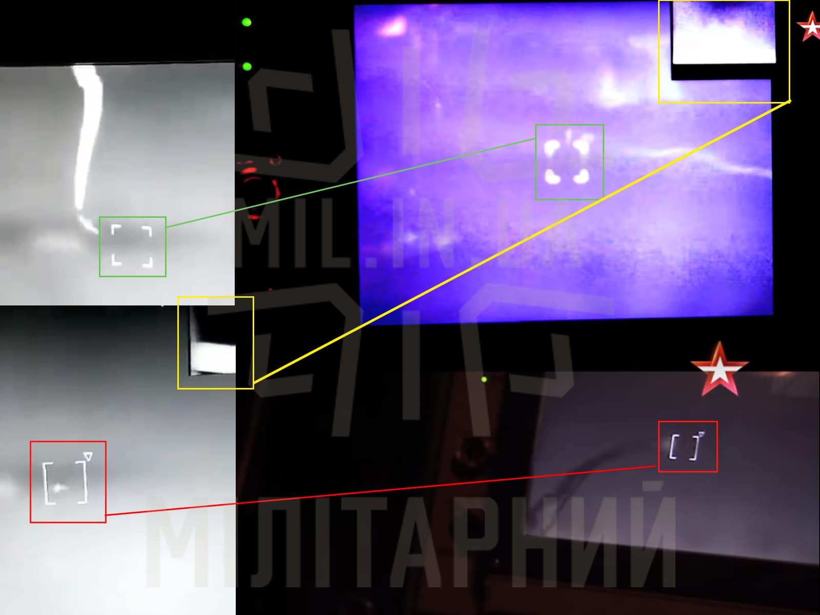 Робочий дисплей оператора ЗРК «Тор»