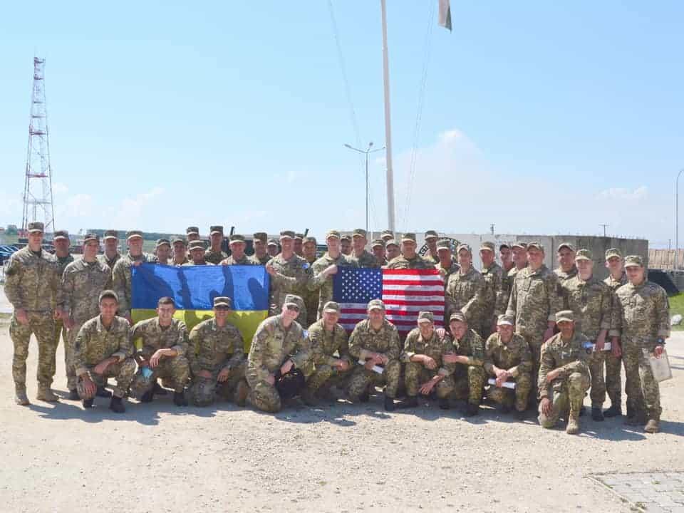 Ротація українських військових у Косово разом з американськими колегами