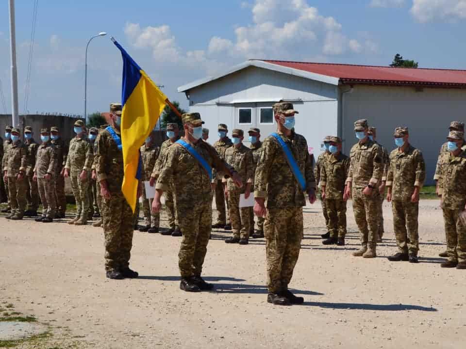 Ротація українських військових у Косово в червні 2021 року