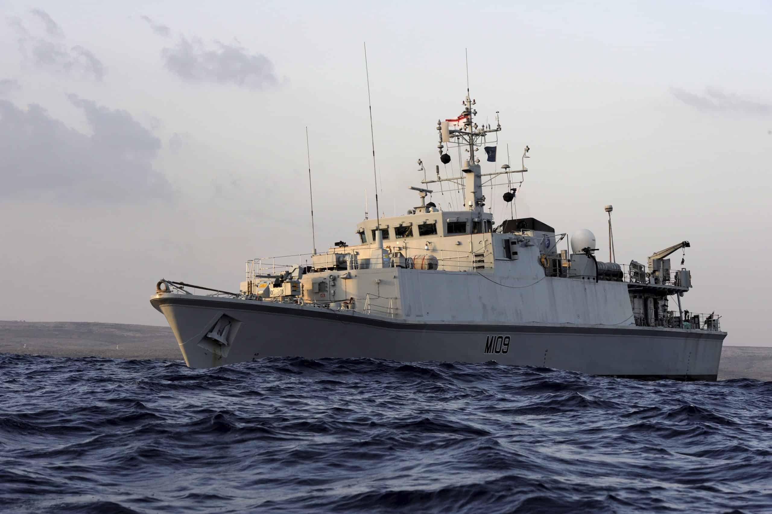 Мінний тральщик класу Sandown Королівського Флоту Великобританії, фото - Вікіпедія