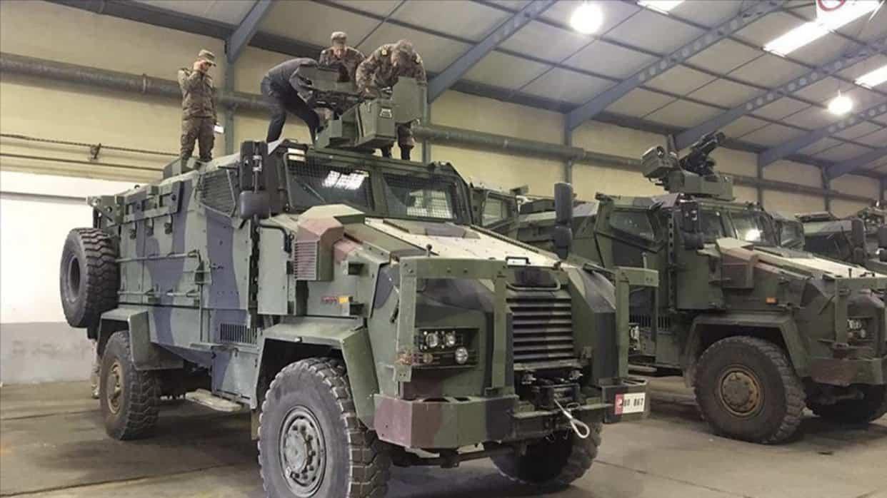 Турецькі бронемашини Kirpi 4x4
