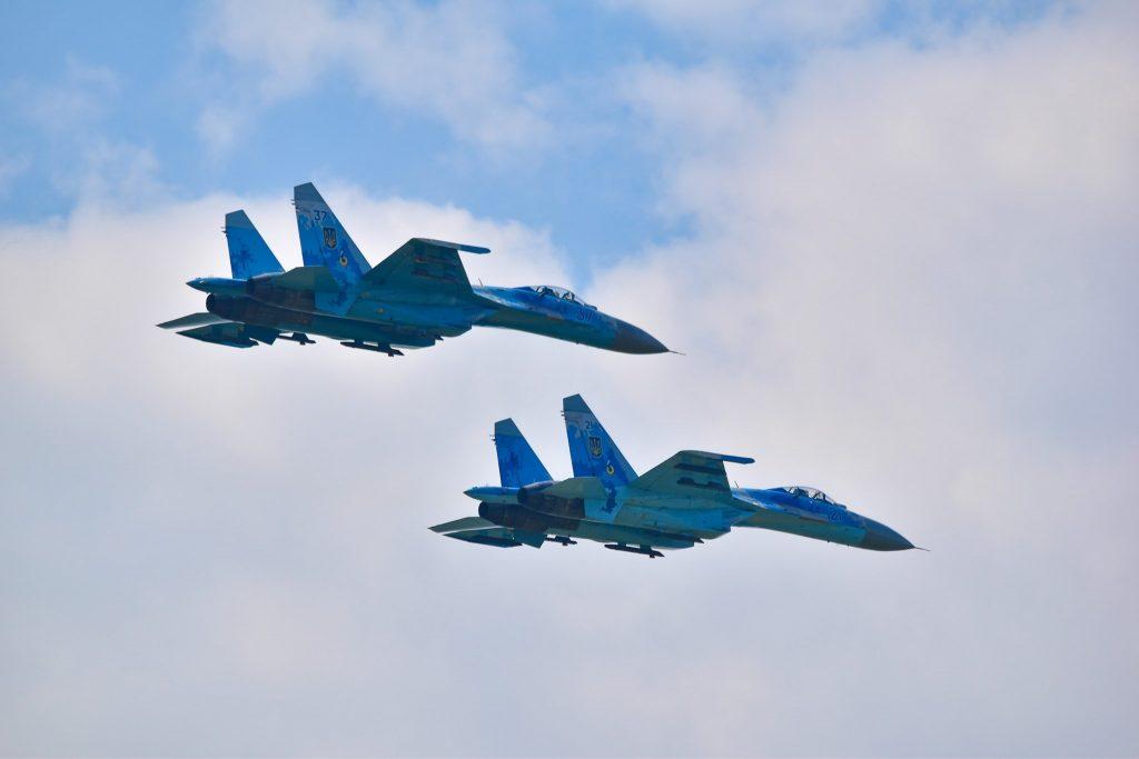Українські Су-27 на Sea Breeze - 2021
