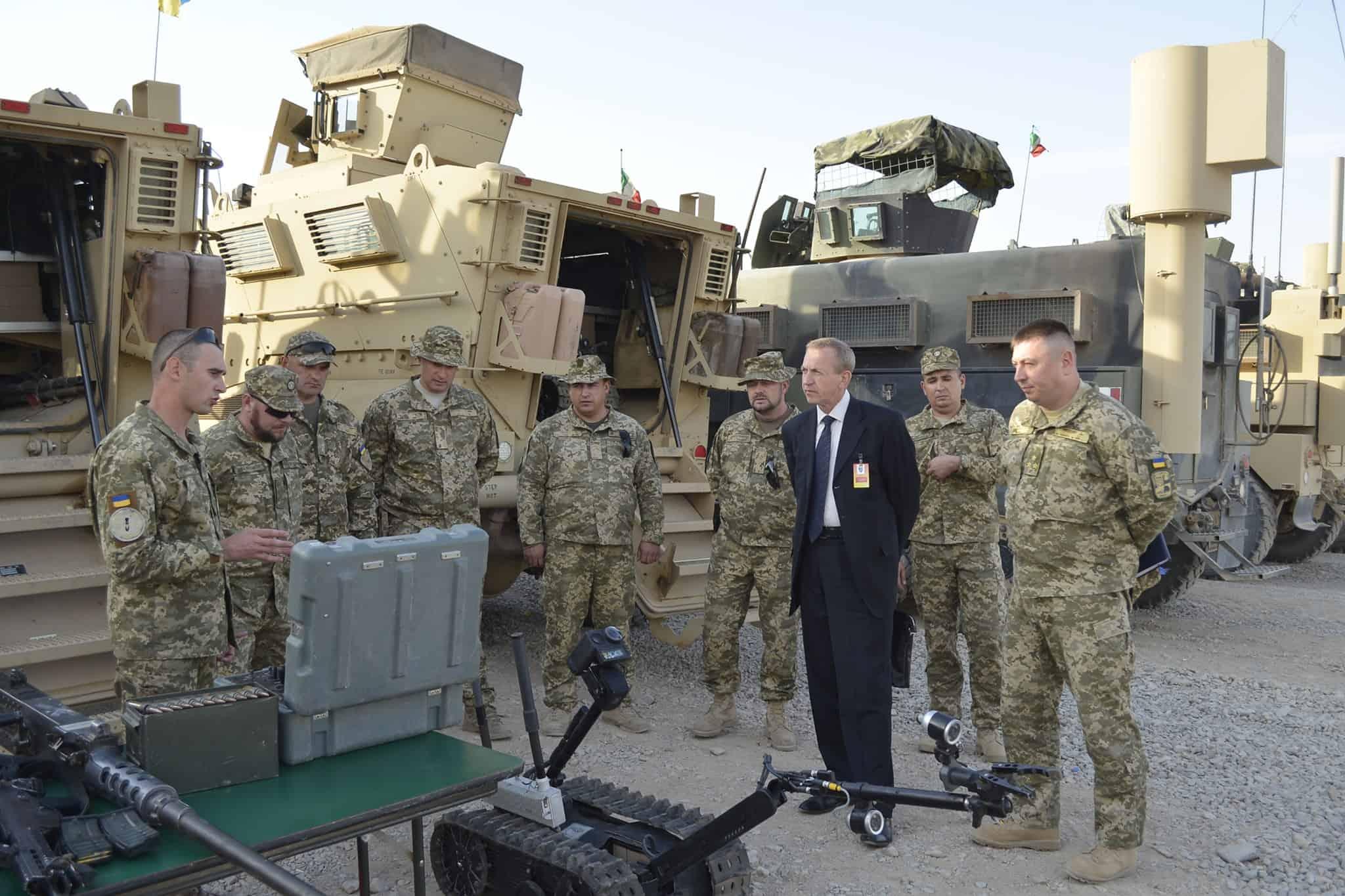 Українські військові в Афганістані