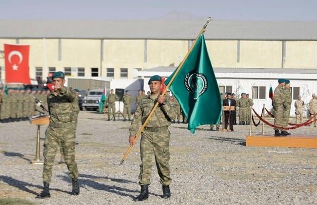 Афганські та турецькі військові