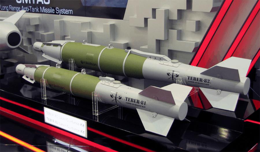 Авіабомби Mk 81 та Mk 82 з комплексами наведення Teber