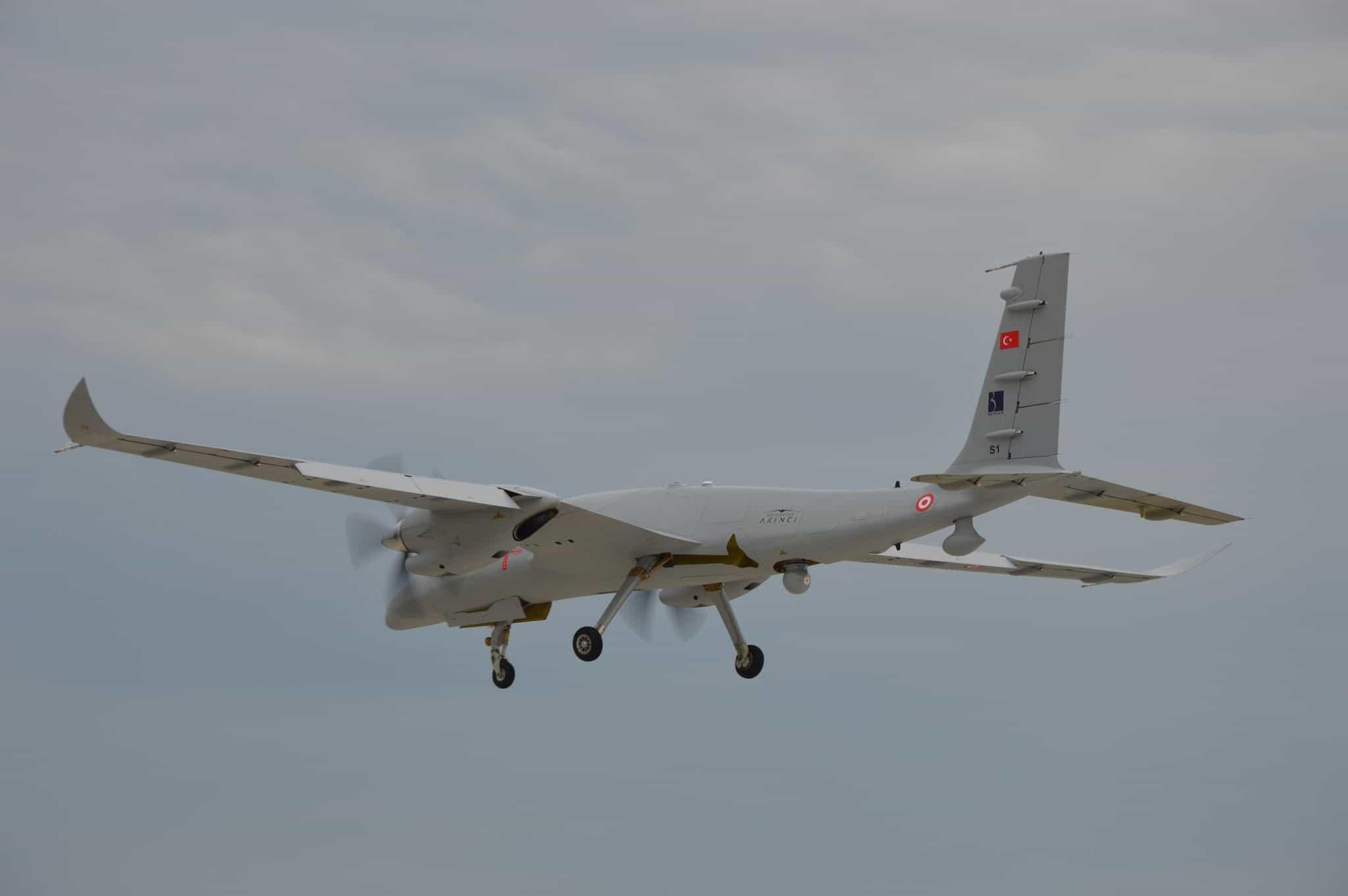 Безпілотний літальний апарат (БПЛА) Akinci