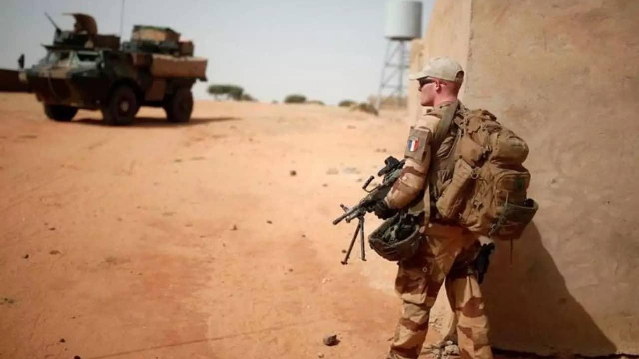 Французький військовий у Малі