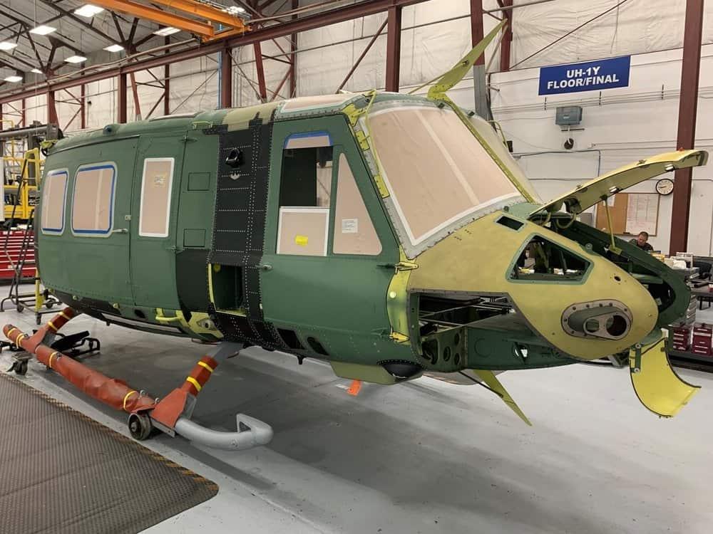 Фюзеляж гелікоптеру UH-1Y для Чехії