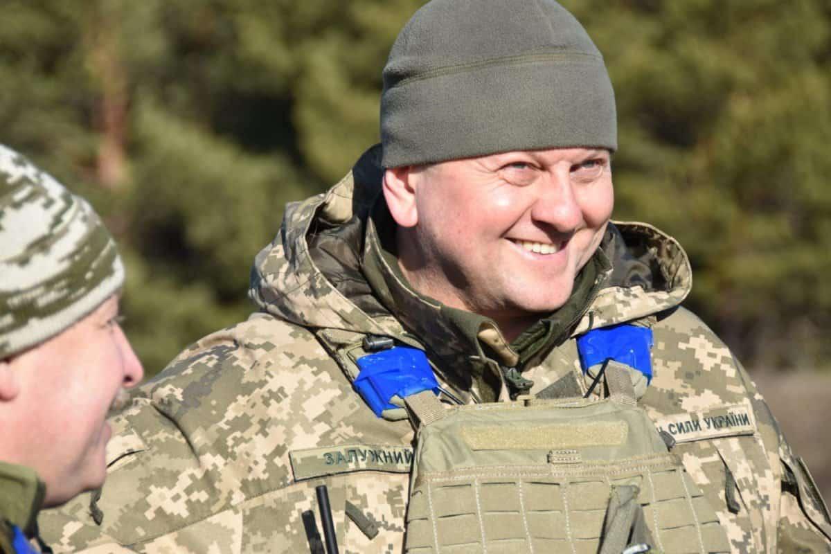 Генерал-майор Валерій Залужний