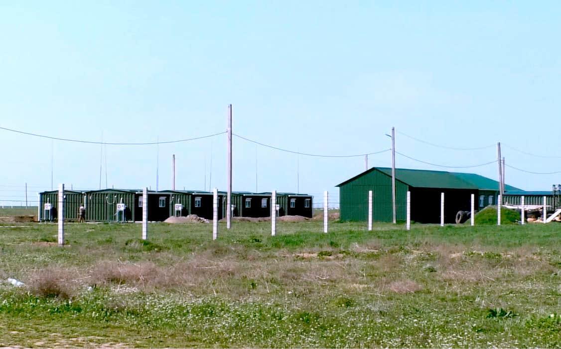 Інфраструктура на полігоні «Ягорлик»
