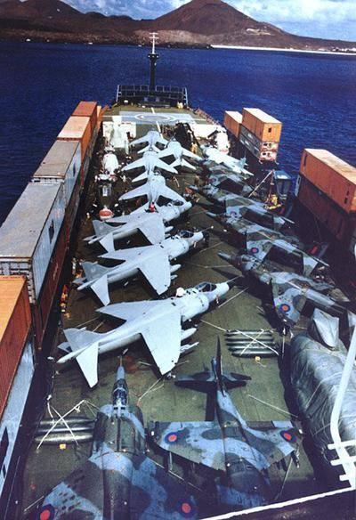 На палубі «Атлантик конвейера»