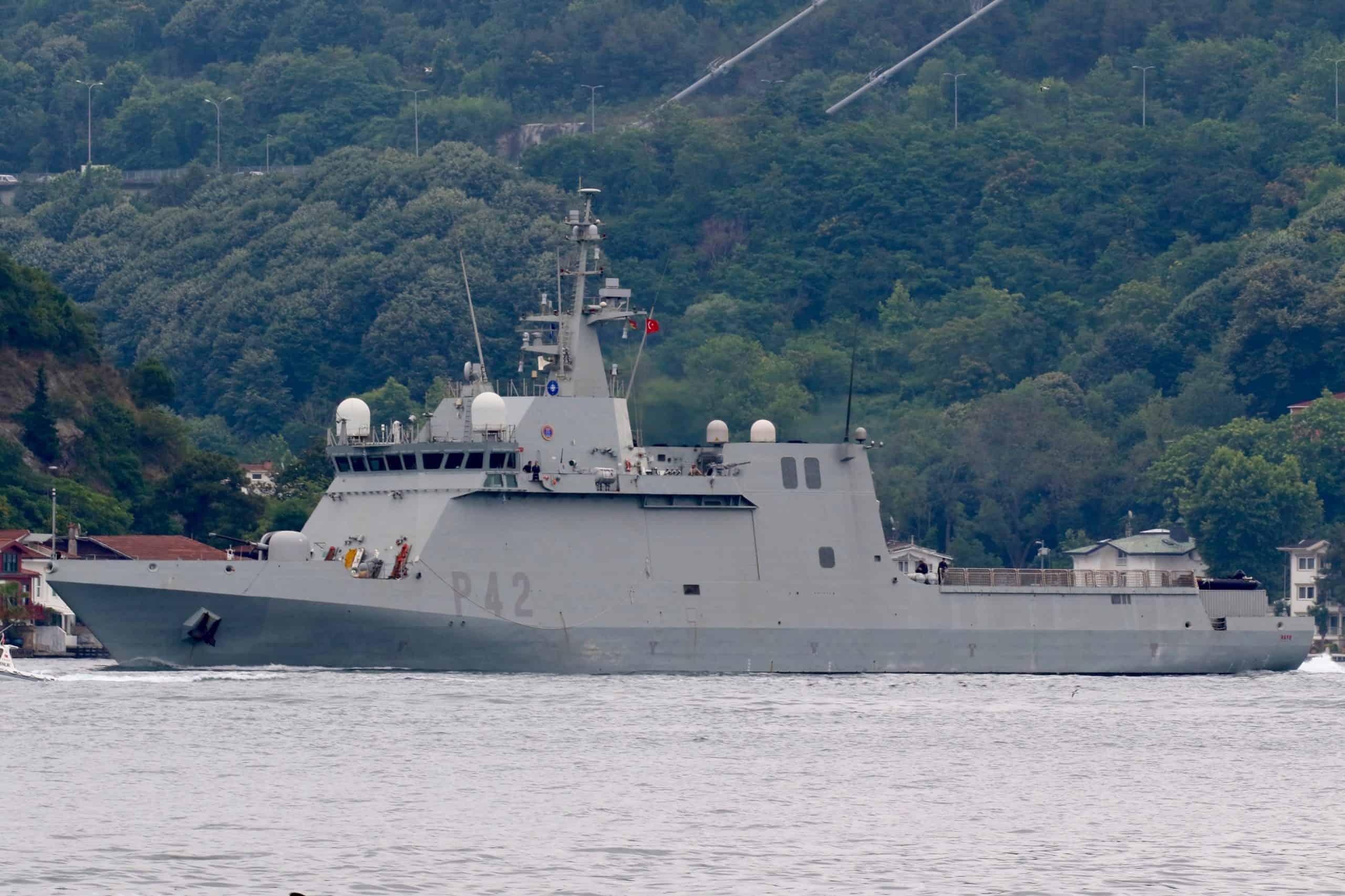 Патрульний корабель ESPS Rayo ВМС Іспанії