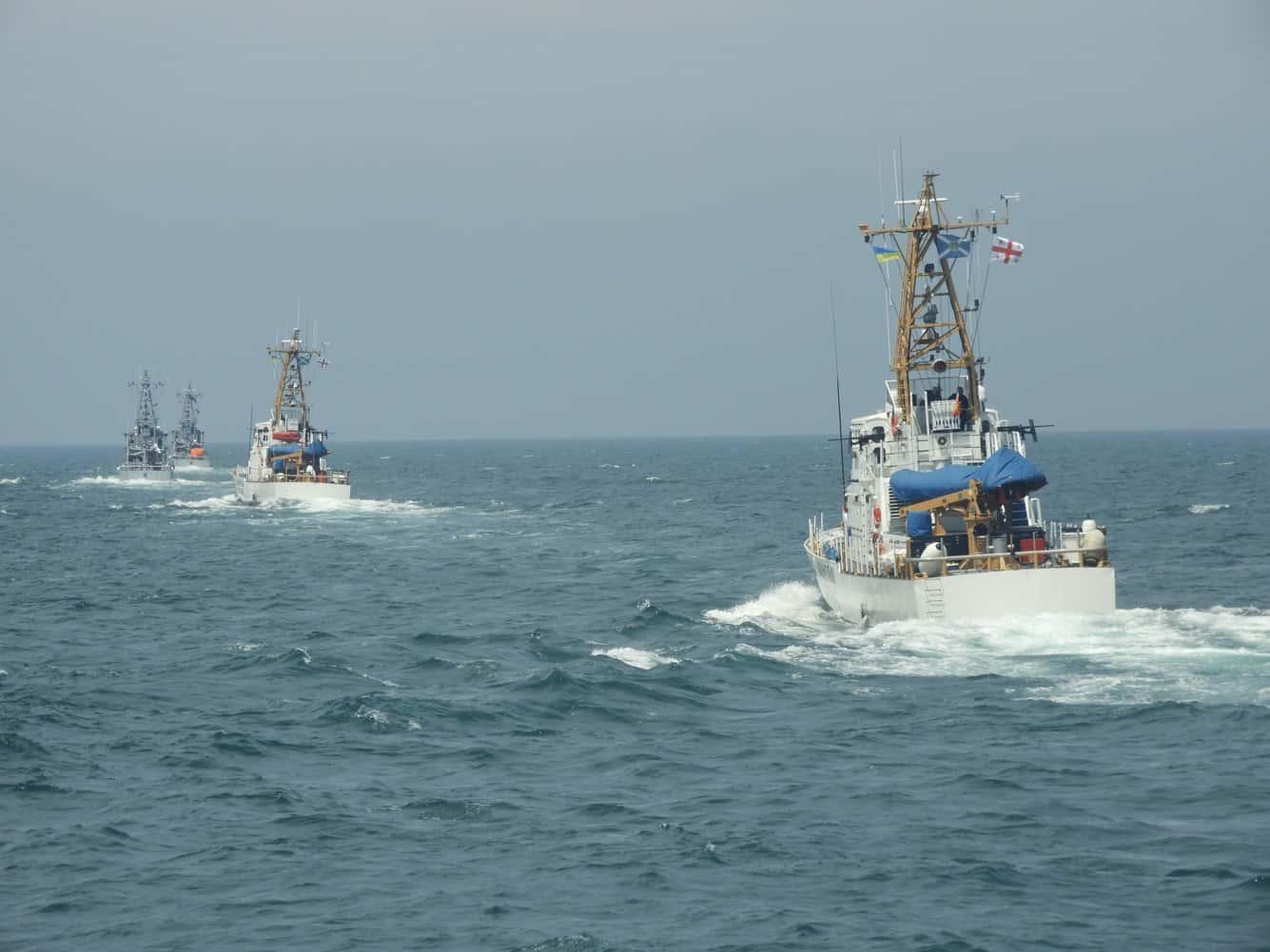 Тактична група патрульних катерів типу Island ВМС ЗС України та Берегової охорони Грузії