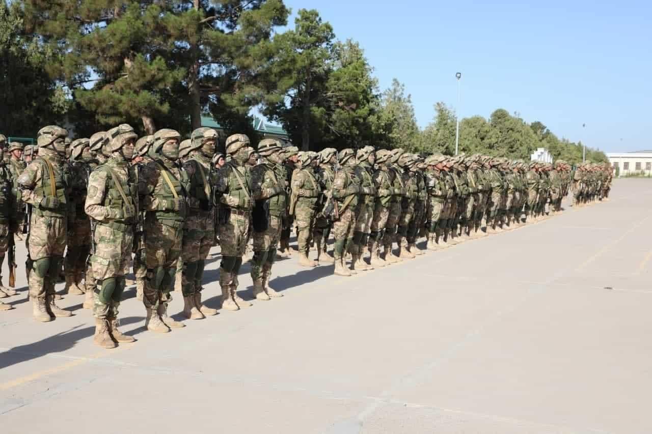 Військовослужбовці ЗС Узбекистану