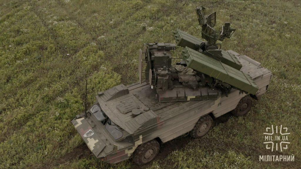 ЗРК «Оса-АКМ» Сухопутних військ ЗСУ