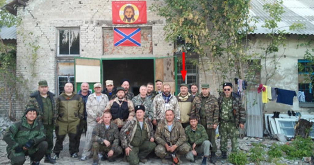 Роман Шадрін в Україні на Донбасі