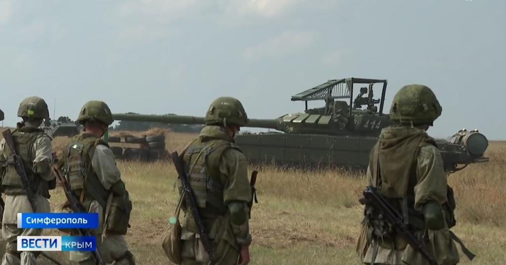 Танк Т-72Б3М ЗС РФ у Криму. Серпень 2021