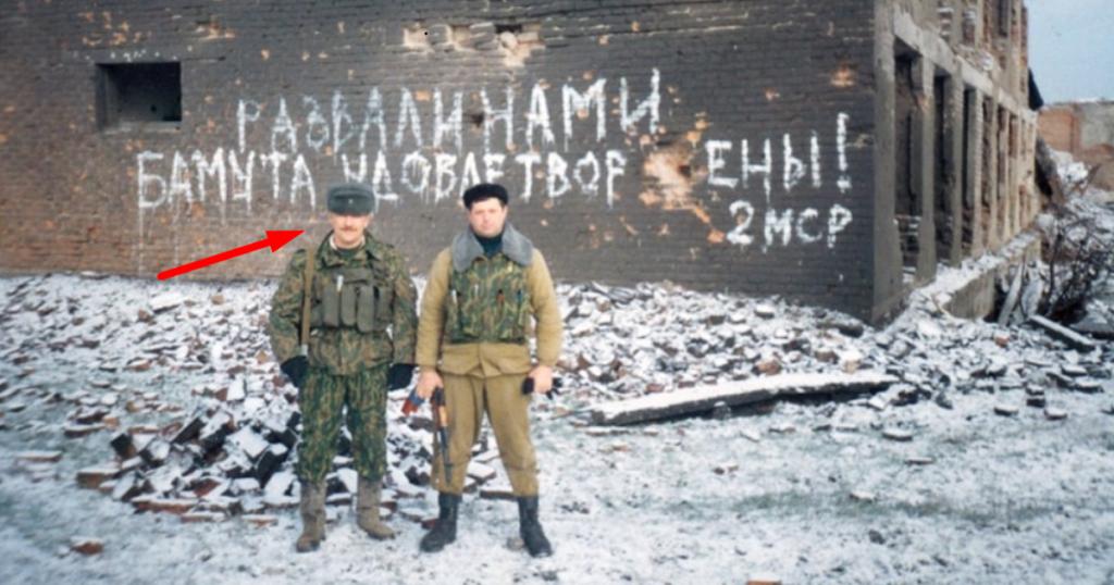 Роман Шадрін у Чечні