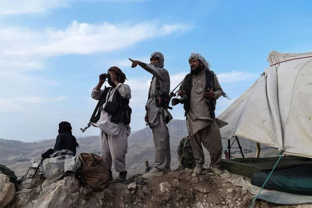 Бійці Сил опору в Афганістані