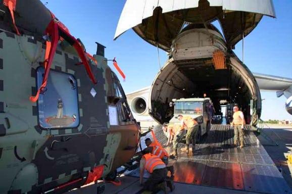 Доставка іспанських гелікоптерів NH-90 до Малі