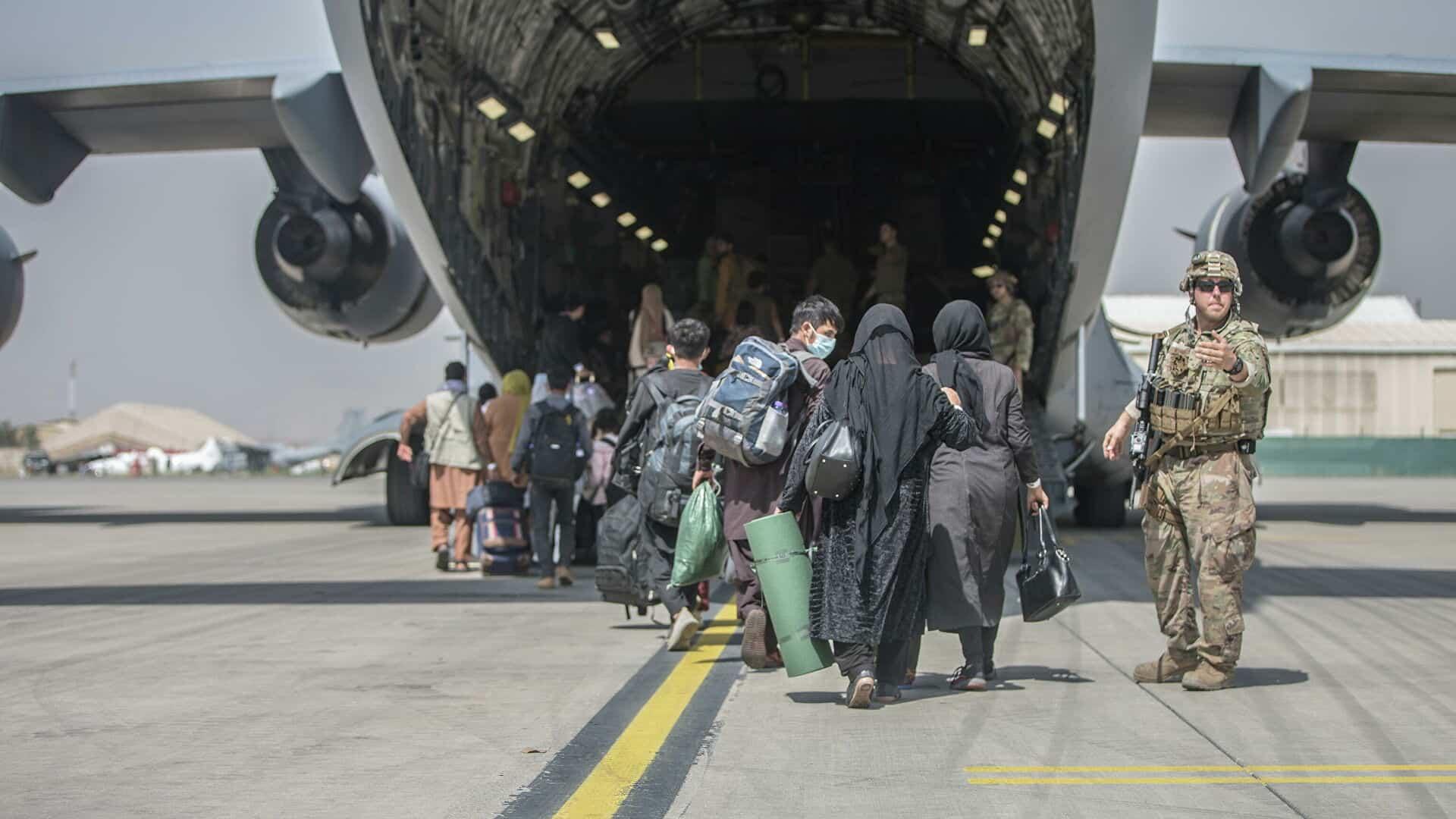 Евакуація з Афганістану літаком С-17