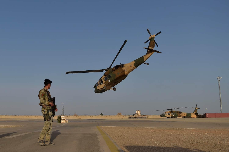 Гелікоптери UH60 Black Hawk Повітряних Сил Афганістану
