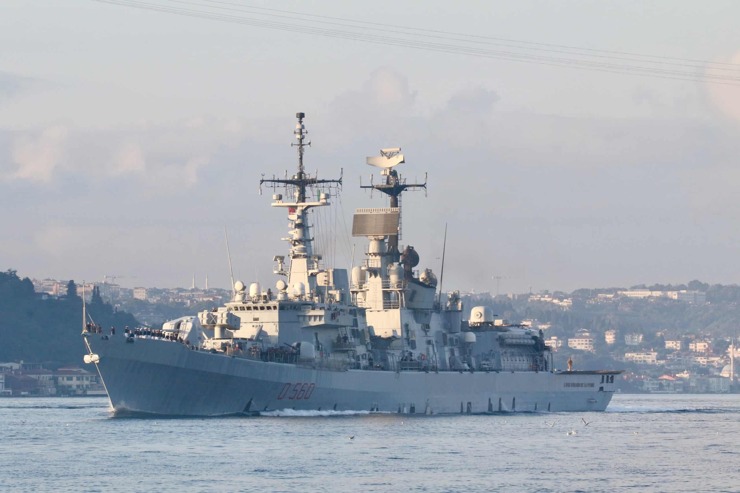 Італійський есмінець Luigi Durand de la Penne (D560)