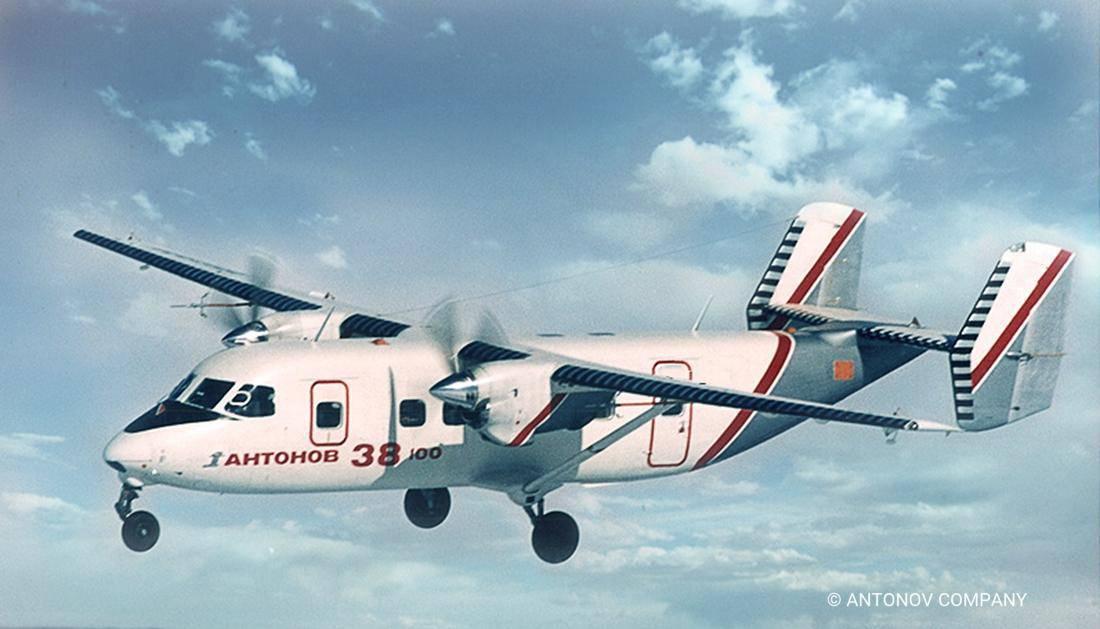Літак Ан-38-100