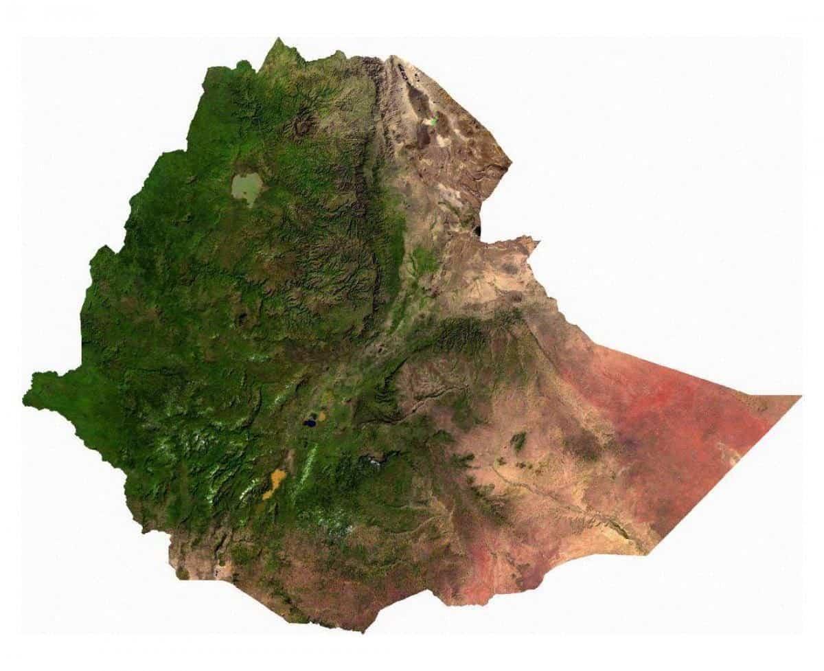 Мапа Ефіопії
