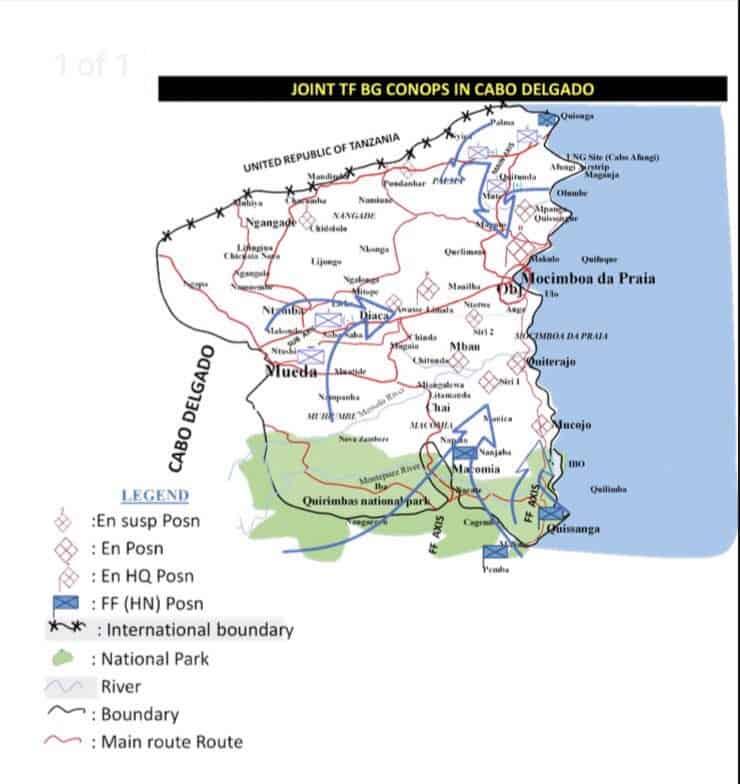 Наступ Сил безпеки Руанди проти ісламістів у Мозамбіку