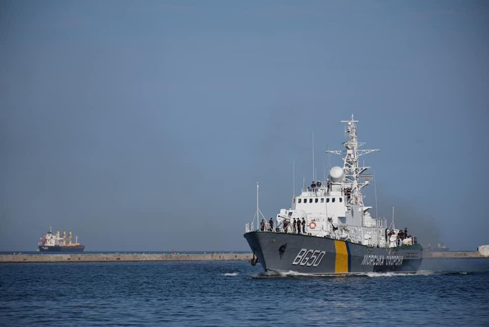 Повернення корабля «Григорій Куроп'ятніков» до Одеси